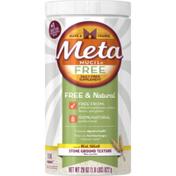 Metamucil Free Multi-Health Psyllium Fiber Supplement Powder