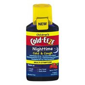 Cold-Eeze Nighttime Cold & Cough Multi-Symptom Berry