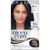 Clairol Nice 'n Easy, 2BB 124 Natural Blue Black, Permanent Hair Color, 1 Kit Female Hair Color