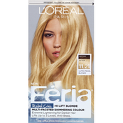 Feria Permanent Haircolour Gel, Ultra Pearl Blonde 11.21