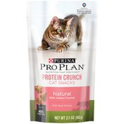 Pro Plan Cat Treats Protein Crunch with Real Shrimp Cat Snacks