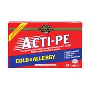 Best Choice Acti-PE Cold & Allergy Tablets