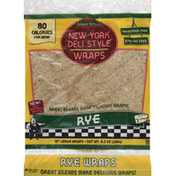 Tumaro's Wraps, New York Deli Style, Large, 10 Inch, Rye