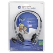 GE Headset, All-in-One, Voice Over Internet
