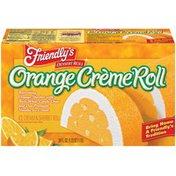 Friendly's Orange Creme Roll Ice Cream & Sherbet Roll