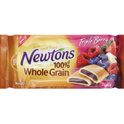 Newtons Cookies, Fruit Chewy, Triple Berry