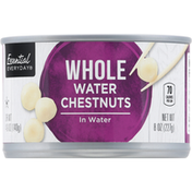 Essential Everyday Water Chestnuts, Whole, In Water