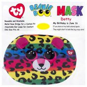 Ty Beanie Boo Face Mask, Dotty