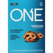 One Protein Bar, Chocolate Chip Cookie Dough Flavored