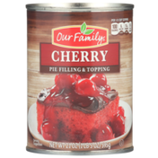 Our Family Cherry Pie Filling & Topping