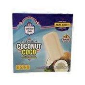 Pueblo Lindo Coconut Premium Ice Cream Bars