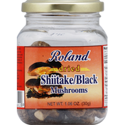 Roland Mushrooms, Dried, Shiitake/Black