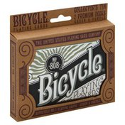 Bicycle Playing Cards, Green & Purple