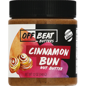 Off Beat Butters Nut Butter, Cinnamon Bun