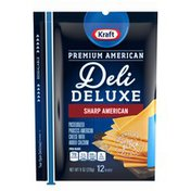 Kraft Sharp American Cheese Slices