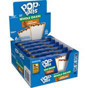 Kellogg's Pop-Tarts Toaster Pastries, Breakfast Foods, Made with Whole Grain, Frosted Cinnamon