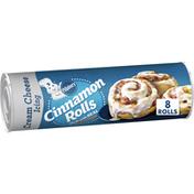 Pillsbury Cinnamon Rolls, Cinnabon Cinnamon Cream Cheese Icing, 8 Count