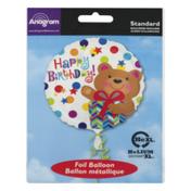 Anagram Standard Foil Balloon Happy Birthday!