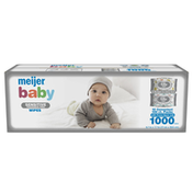 Meijer Baby Wipes, Fragrance Free