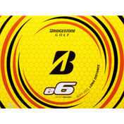 Bridgestone Golf Balls, Optic Yellow, Soft Feel, Long Distance