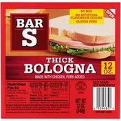 Bar-S Thick Bologna
