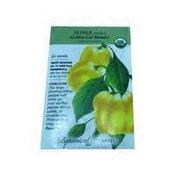 Botanical Interests Organic Golden Cal Wonder Sweet Pepper Seeds