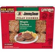 Jimmy Dean Sausage Patties, Maple Turkey