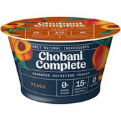 Chobani Complete Greek Yogurt Peach