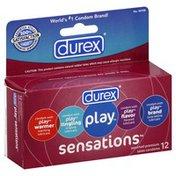 Durex Condoms, Premium Latex, Assorted