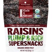 Made in Nature Raisins, Organic, California Seedless
