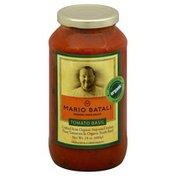 Mario Batali Pasta Sauce, Organic, Tomato Basil
