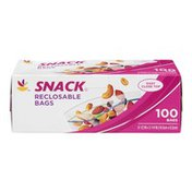 SB Snack Reclosable Bags - 100 CT