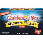 Chicken of the Sea In Oil Mackerel Fillets