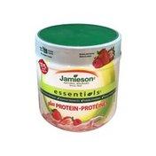 Jamieson Berries & Cream Essentials Plus Protein Supplement
