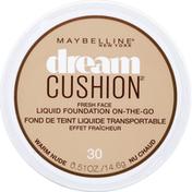 Maybelline Dream Cushion Liquid Foundation Warm Nude 30