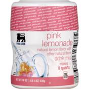 Food Lion Drink Mix, Pink Lemonade, Jar