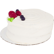 Ahold Cake, Chantilly Raspberry, 7 Inch, Round