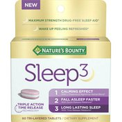 Nature's Bounty Sleep 3, Tri-Layered Tablets
