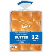 Lewis Bakeries Butter Special Recipe Bread du Jour Butter Special Recipe Dinner Rolls