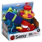 Sassy Rescue Vehicle Set