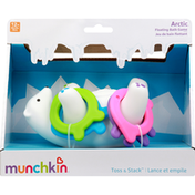 Munchkin Bath Game, Floating, Arctic, Toss & Stack
