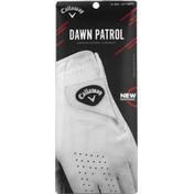 Callaway Golf Glove, White, Left, Extra Large Reg, Men's