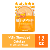 Friskies Wet Cat Food Complement, Lil' Slurprises With Shredded Chicken in a Dreamy Sauce