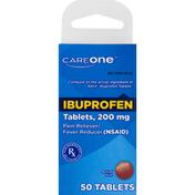 CareOne Ibuprofen, 200 mg, Tablets