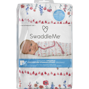 Swaddle Me Swaddle, Original, Small/Medium, 0-3 Months (7-14 lbs), 1 Pack