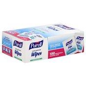 Purell Wipes, Hand Sanitizing, Fragrance Free