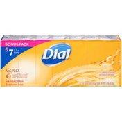 Dial Antibacterial Deodorant Bar Soap, Gold