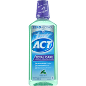 ACT Mouthwash, Anticavity Fluoride, Fresh Mint