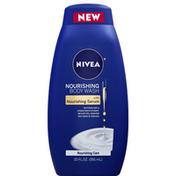 Nivea Body Wash, Nourishing Care