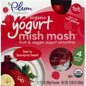 Plum Organics Yogurt Mish Mash, Organic, Berry Banana Beet